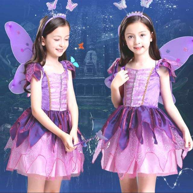 af25813bb In Stock -Beautiful Purple Butterfly Fairy Flower Fairy Pixie ...