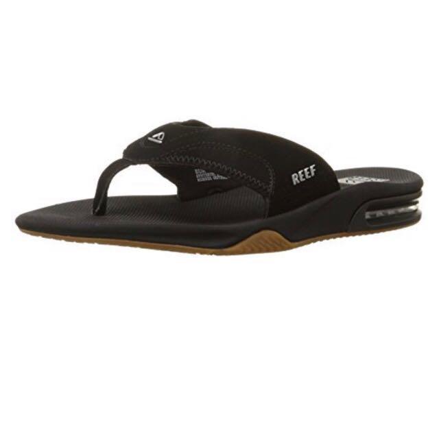 instock) authentic reef slipper, men's fashion, footwear, slippers