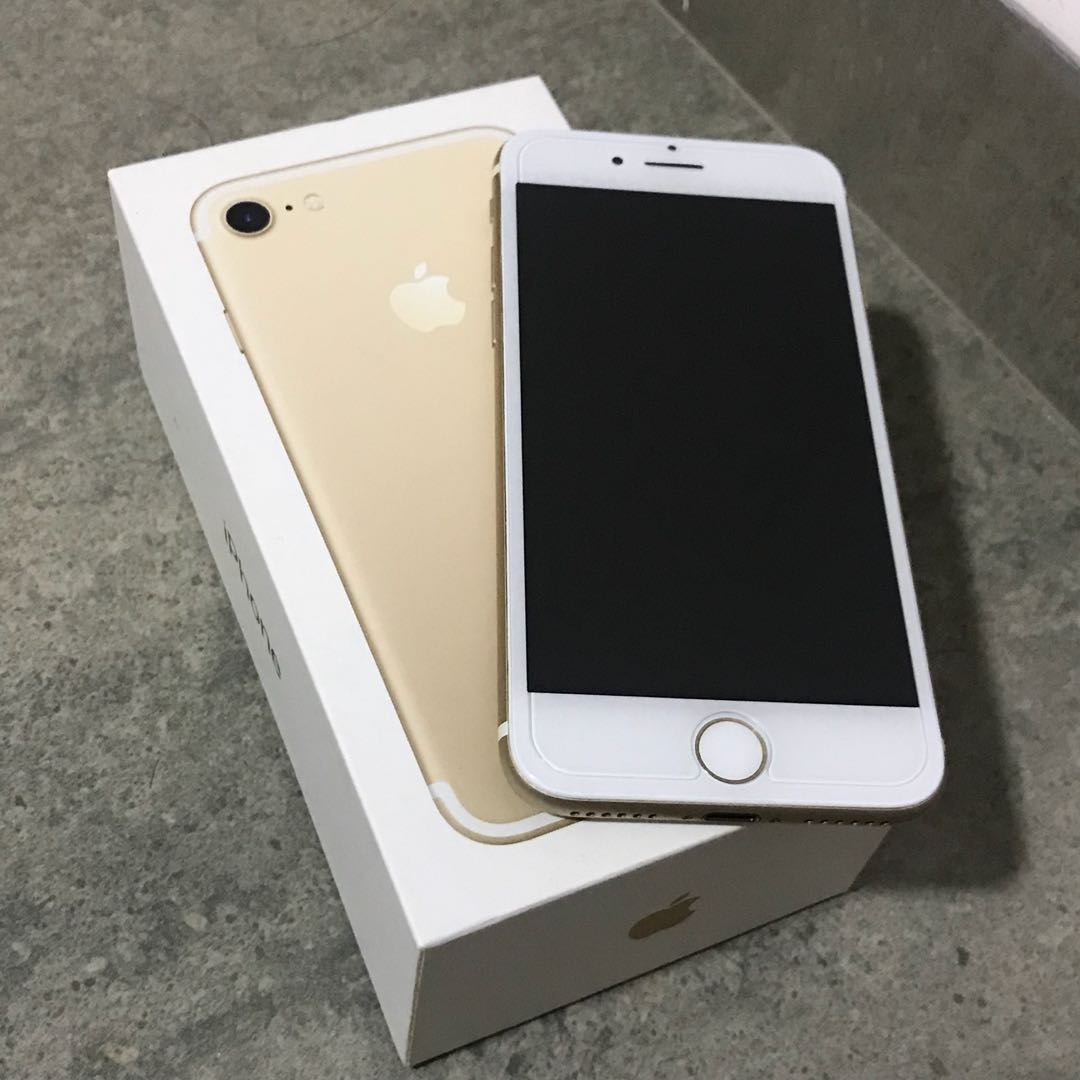 Iphone 7 128gb Gold Mobiles Tablets Series Iphone7 Photo
