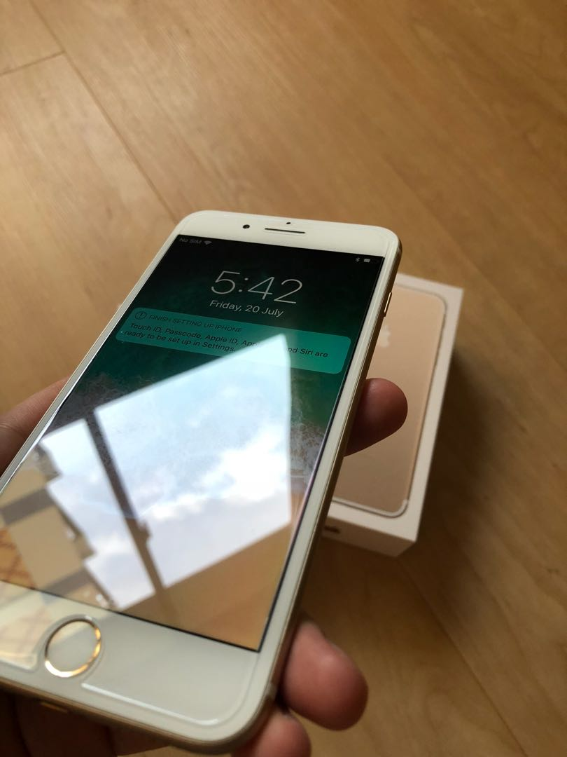 Iphone 7 Plus 128gb Gold Mobiles Tablets Series Apple 128 Gb Photo