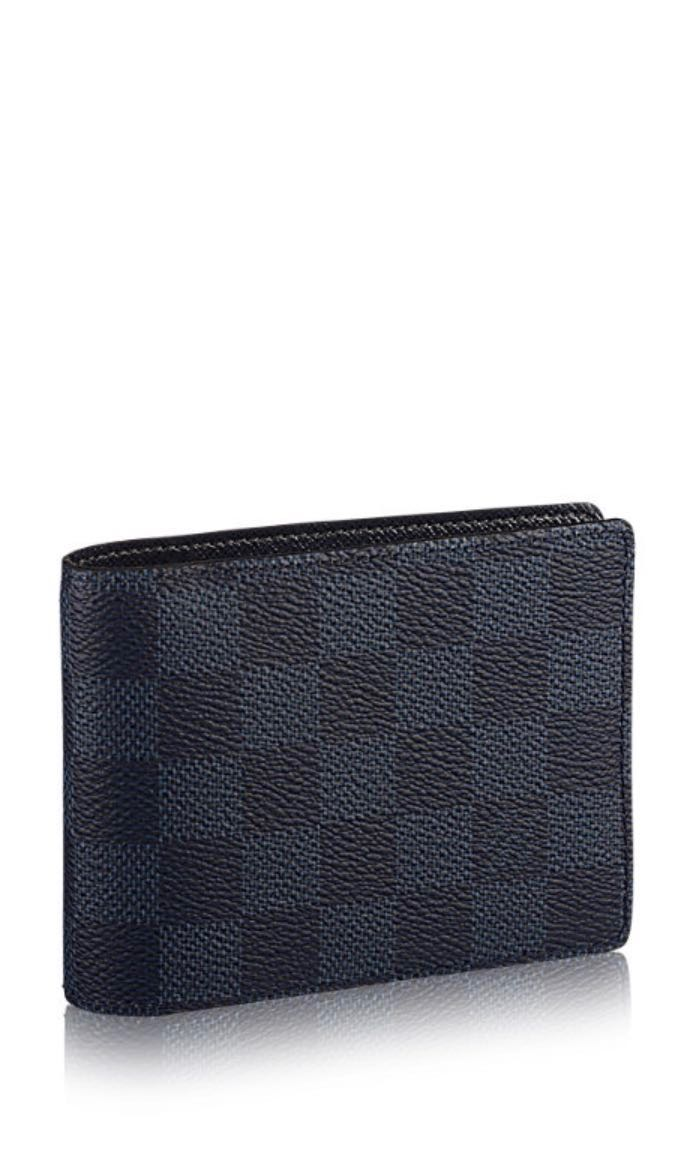cdeca21304a3 Louis Vuitton Multiple Wallet ( Graphite   Navy)