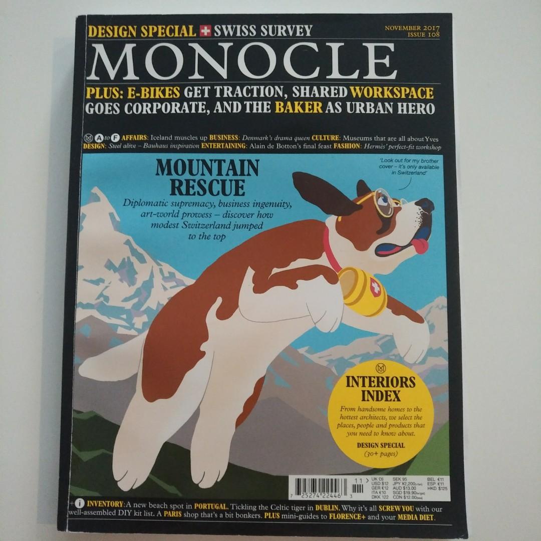Monocle 108 November 2017