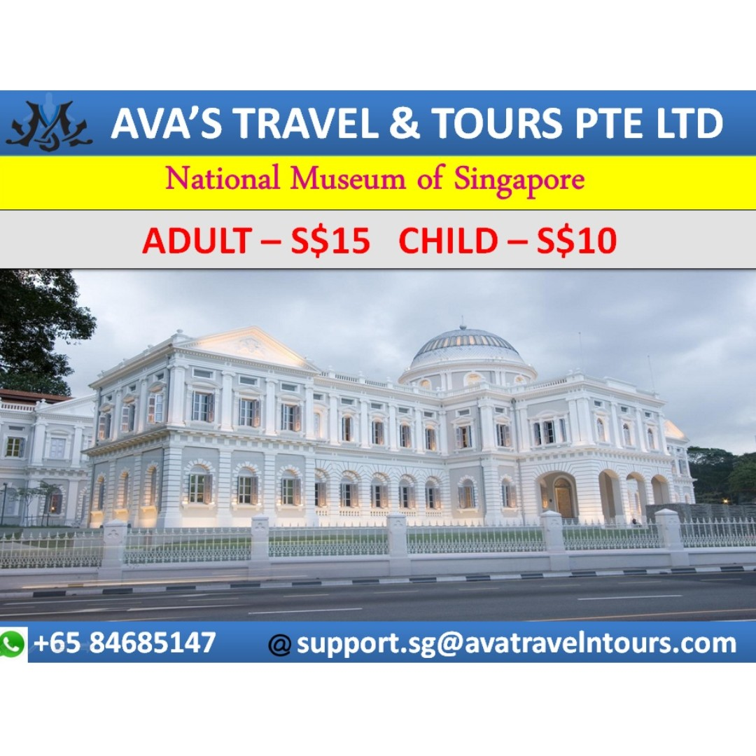 National Museum Of Singapore Gallery Ifly Adult Entertainment Attractions On Carousell