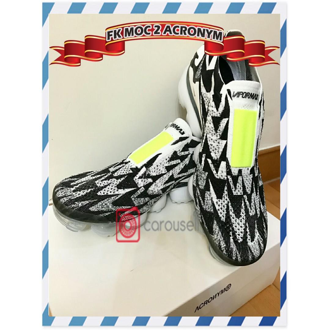 9725f8a487 Nike Air Vapormax FK Moc 2 Acronym, Men's Fashion, Footwear ...