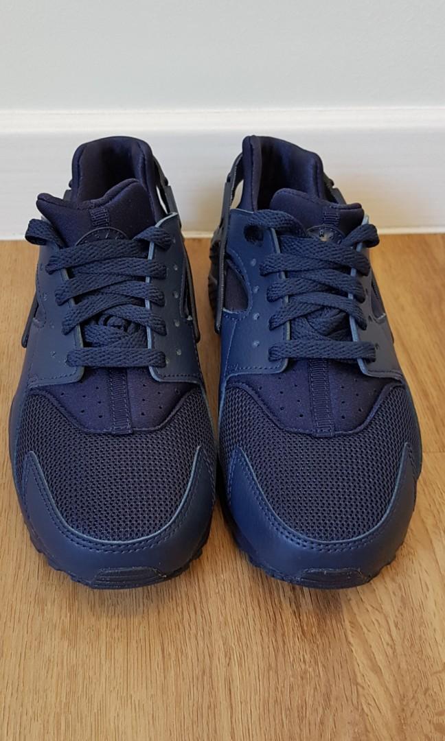 dbbf42f48f46 Nike Huarache Run 5Y Navy Blue