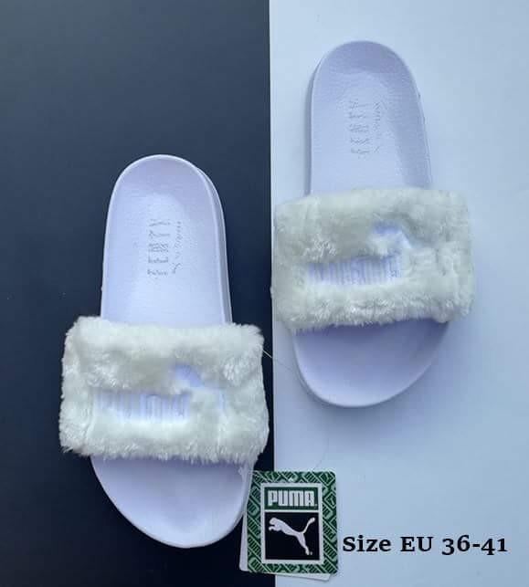 buy online 3d3f0 00fa8 Puma Fenty Fur Slides