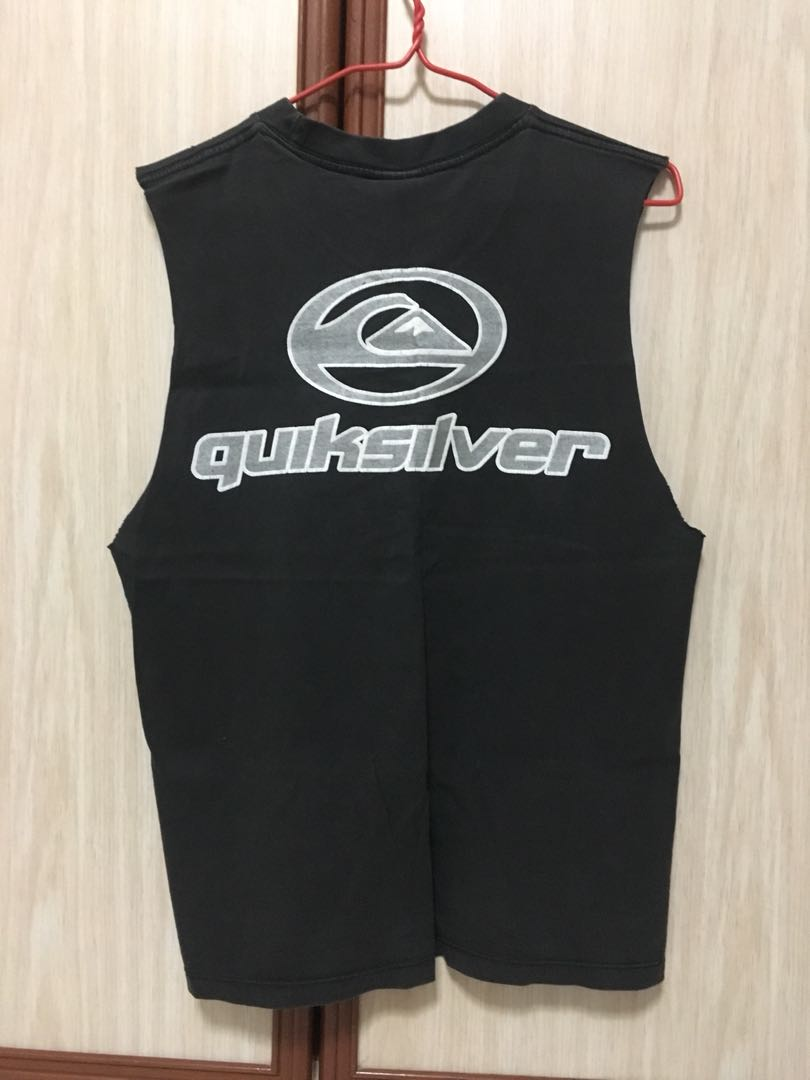 32592d456 Quicksilver Muscle Tank, Men's Fashion, Clothes, Tops on Carousell