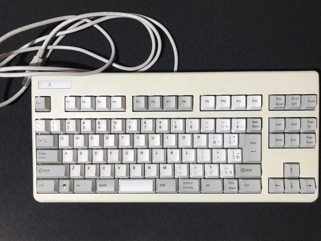 3fb61672467 Realforce 91U / 86U Topre Keyboard, Electronics, Computer Parts &  Accessories on Carousell