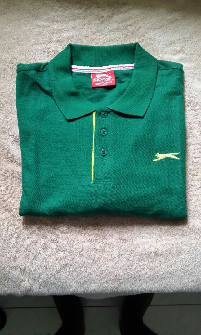 a2f74cd493c Slazenger Polo T, Men's Fashion, Clothes, Tops on Carousell