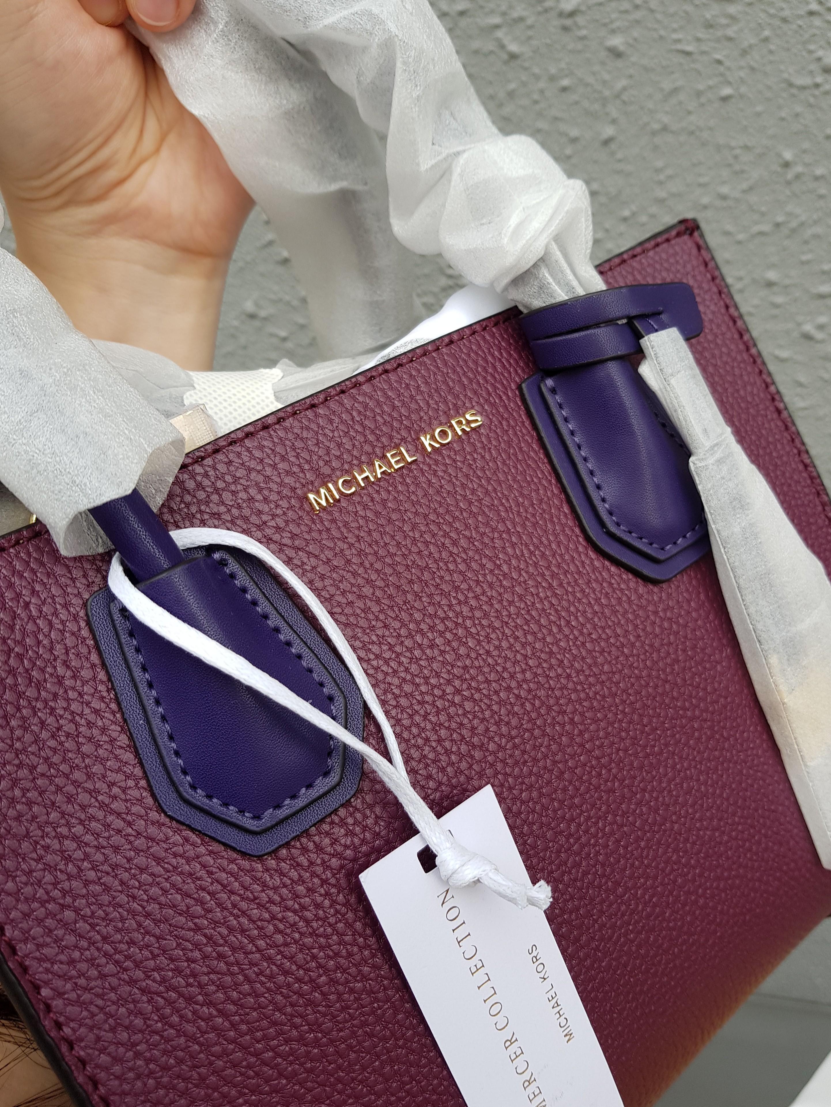 3e1e2000897dc SPECIAL OFFER! Michael Kors Mercer Tricolor Handbag (100% Authentic ...