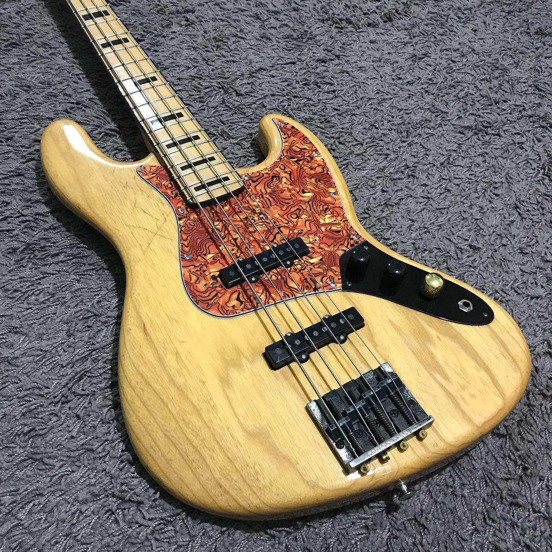 USA Fender Warmoth Jazz Bass, Music & Media, Music