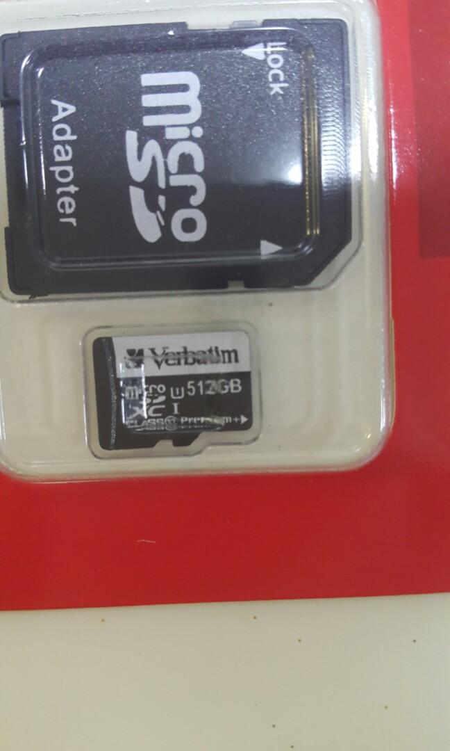 Verbatim Micro SD Card ( 512GB )