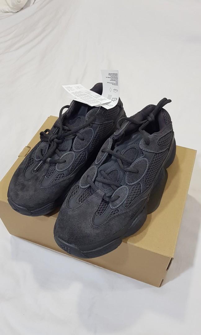 0bbc9111a9076 Yeezy 500 Utility Black UK 8 US 8.5