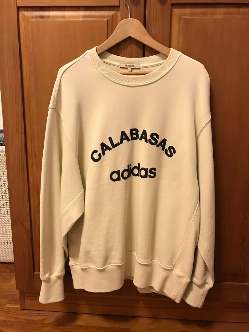 f71d60e3 Yeezy Season 5 Pullover Sweatshirt, Men's Fashion, Clothes ...