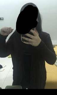 Dark brown cardigan