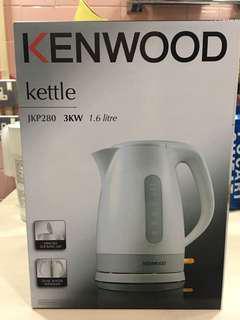 執屋誠放系列之 Kenwood 電熱水壼1.6公升