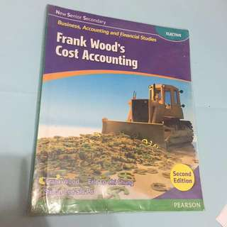 [BAFS 會計及財務概論]Frank Wood's Cost Accounting 2nd edition 第二版