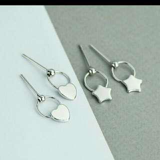 🚚 可愛星星針式耳環