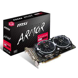 AMD MSI Gaming Radeon RX 580 256-bit 8GB GDRR5 DirectX 12 VR Ready CFX Graphics Card