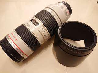 Canon ef 70 - 200mm f2.8 zoom 鏡