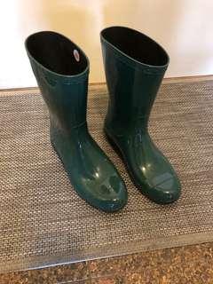 Uggs Green Rain Boots