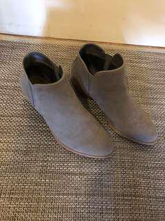 Joe Fresh Grey Booties