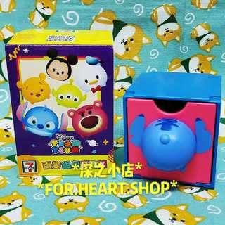 7 11 迪士尼 Disney Tsum Tsum 百變組合BOX 10號 Stitch 史迪仔 尾