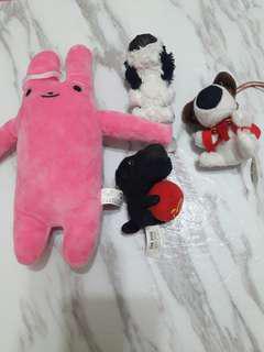 🚚 兔子玩偶、麥當勞狗狗