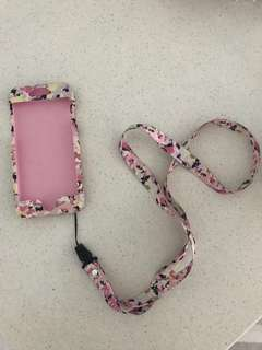 🚚 iPhone 7 casing pink camouflage