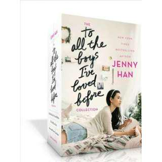 🚚 [PRE-ORDER] The To All the Boys I've Loved Before Collection: To All the Boys I've Loved Before; P.S. I Still Love You; Always and Forever by Jenny Han