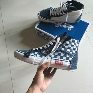 "Vans Vault Sk8-Hi Cap LX Deconstructed Dress Blue/Checkerboard ""Inside Out"" (US7)"