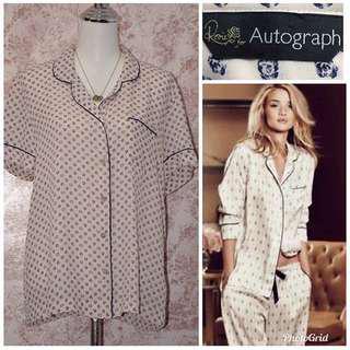 Autograph Pajama Top