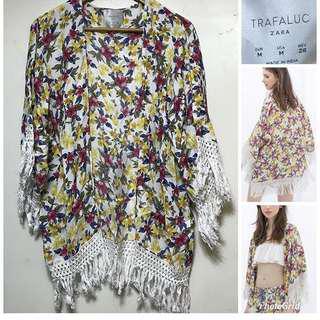 Zara kimono blazer boho