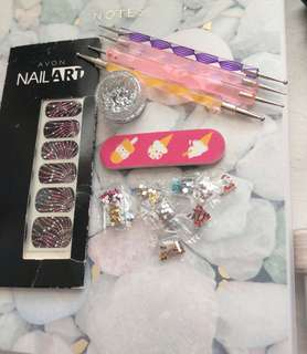 Nail art/care supplies