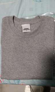 Premium grey basic T-shirt