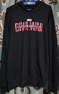 Marvel's Civil War Hoodie (L)