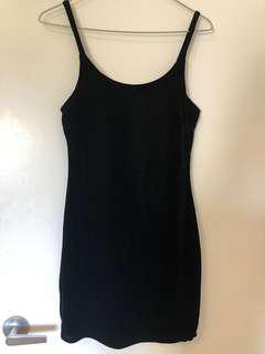 Mini Black Velvet dress