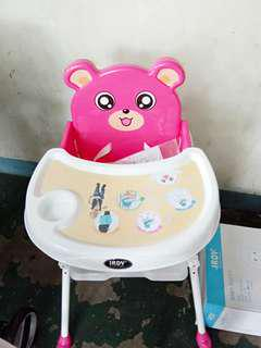 Irdy high chair for baby