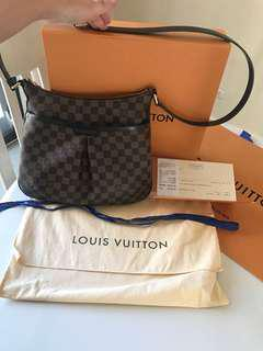 Authentic Louis Vuitton Bloomsbury PM Ebene