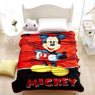 Mickey Mouse Blanket Kumot
