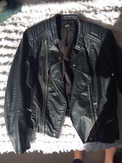 Biker jacket med