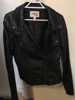 Forever 21 Black Leather Jacket