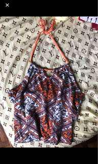 Brand new h&m backless boho top