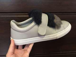 Zara Fluffy Sneakers