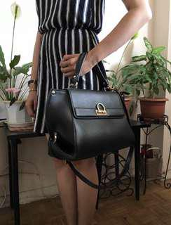 Black Office Purse