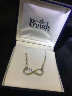 Prouds Infinity Necklace