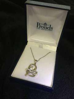 Prouds Heart Neclace
