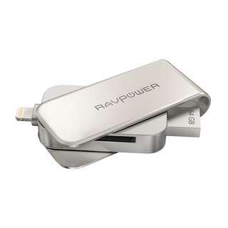 RAVPOWER IOS LIGHTNING FLASH DRIVE / CARD READER