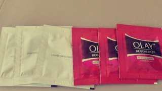 Olay super cream sample 6 piece