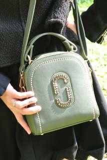 Handbag Korea Style green golden Bling 韓系 女裝 手袋 包包 潮型 閃爍 綠金撞色 熱賣 handbag sales